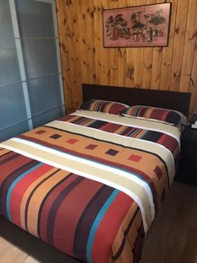 Una casa de madera para invitados