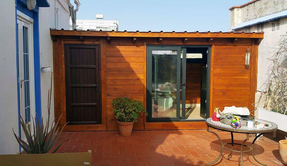 Caseta de madera habitable 12m2 Caseta Living
