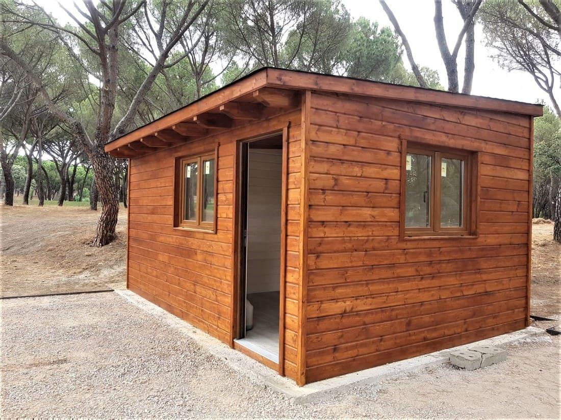 Caseta de madera habitable 18m2 Caseta Living
