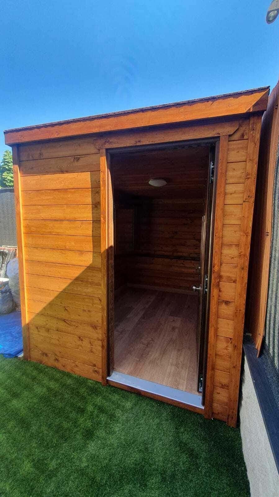 Caseta de madera habitable 5m2 Caseta Living