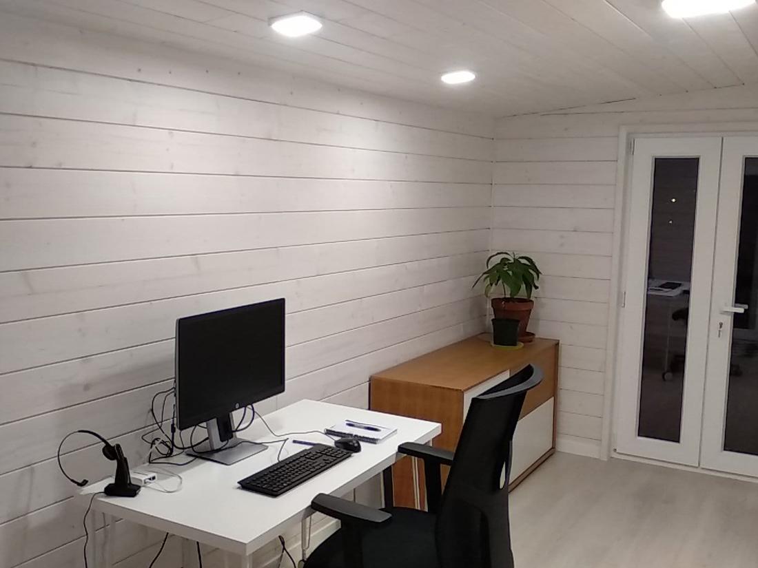 Caseta de madera habitable 11,5m2 Caseta Living