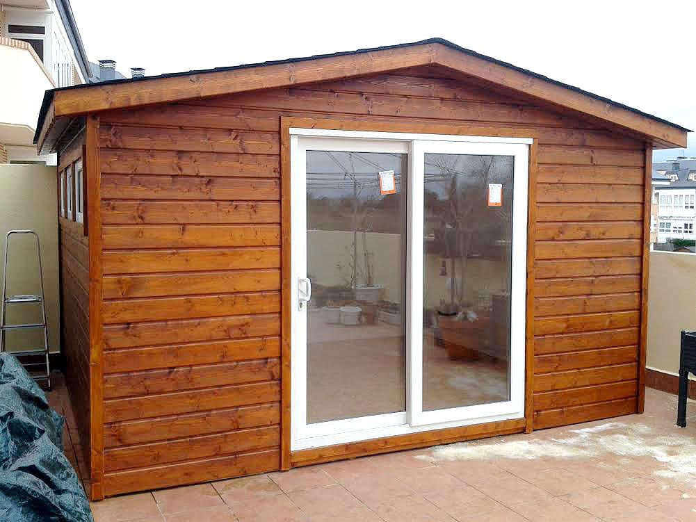 Casetas de madera habitables 12m2 Caseta Living
