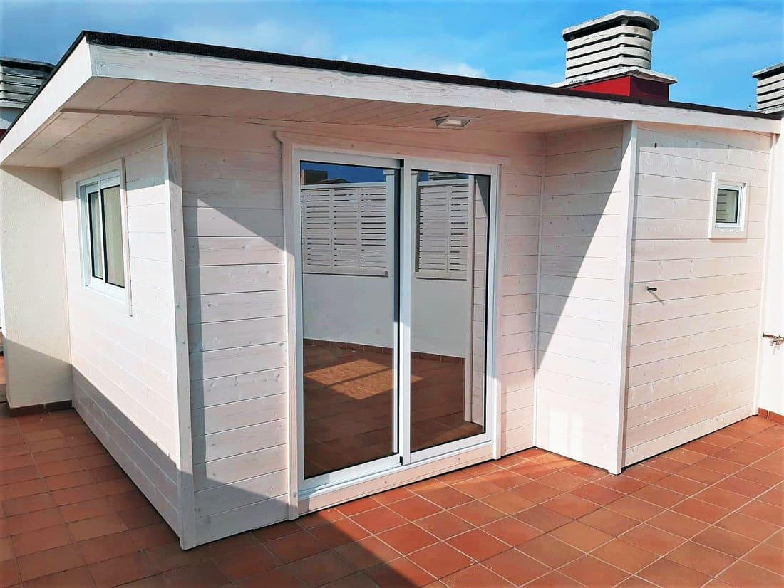 Caseta de madera habitable Caseta Living