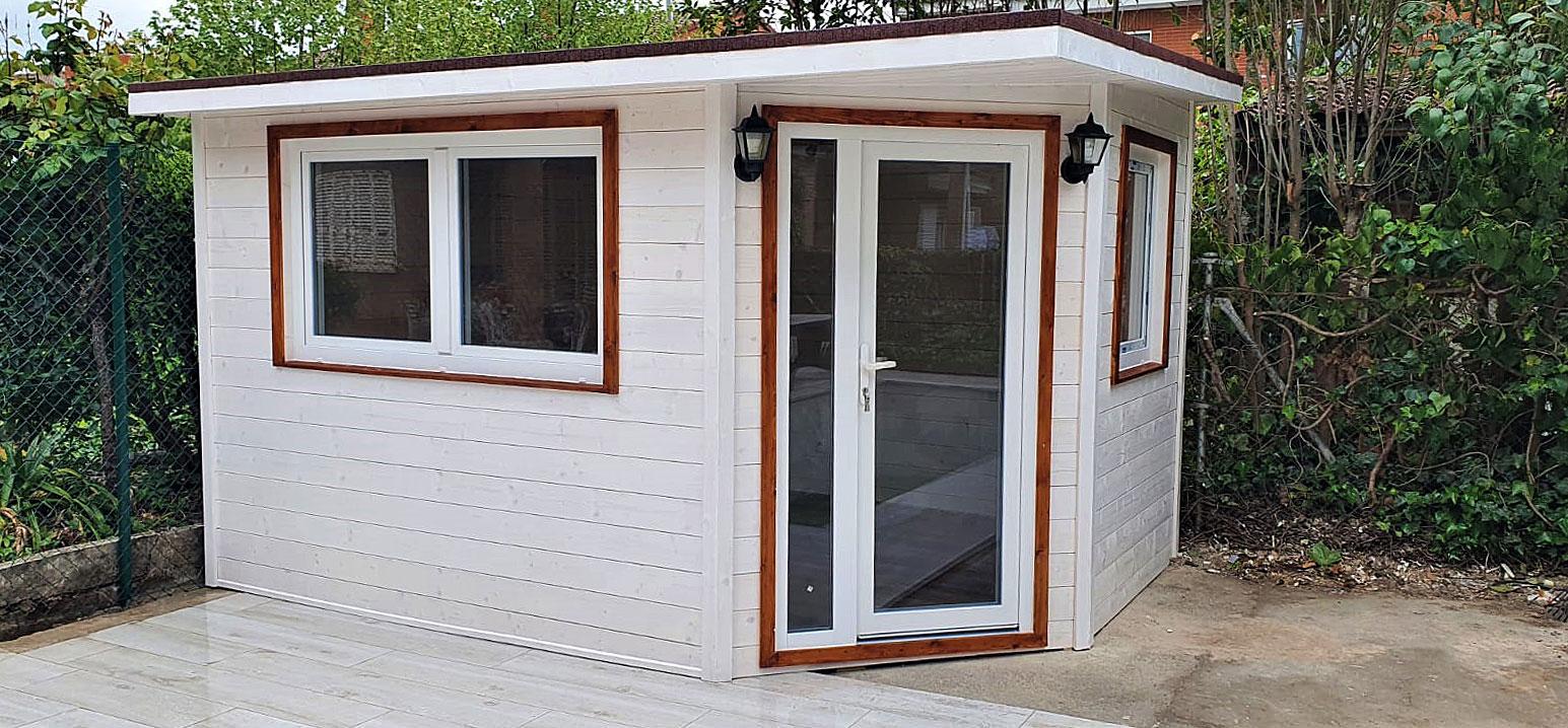 Caseta de madera habitable 10,5m2 Caseta Living