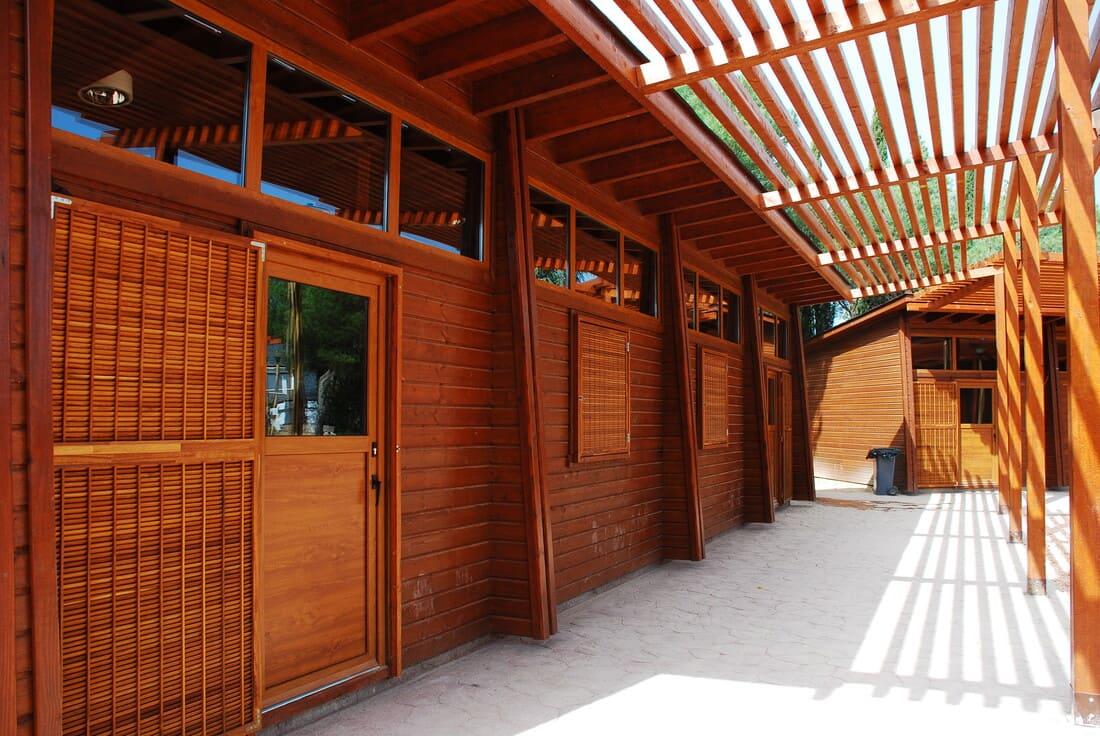 Caseta madera habitable Madrid 340m2 Caseta Living