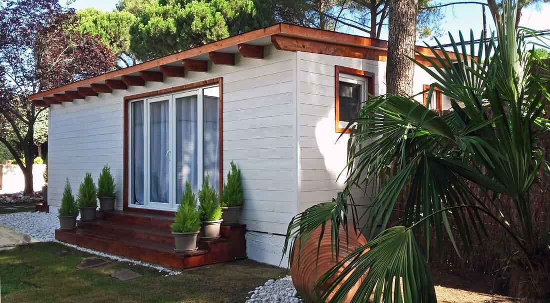 Caseta madera habitable Madrid 38m2 Caseta Living