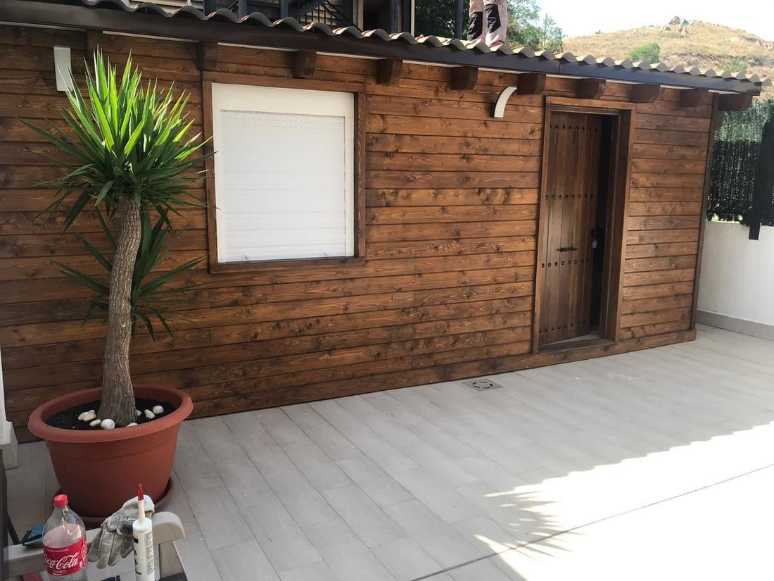 Caseta madera habitable Madrid Caseta Living
