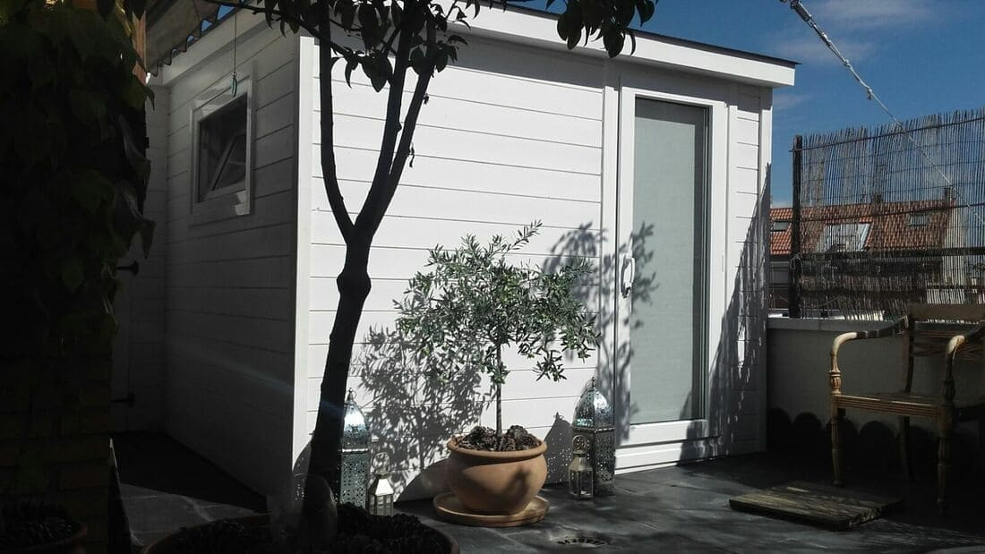Casetas de madera habitables 10.25m2 Caseta Living