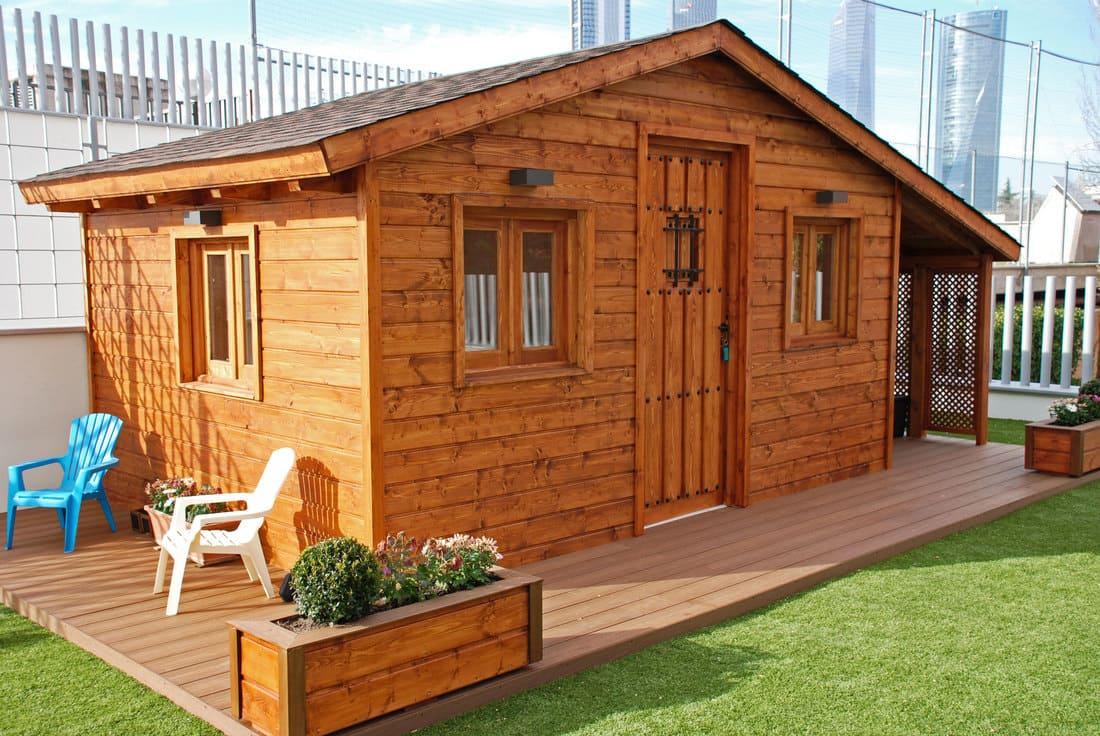 Casetas de madera habitables 11.5m2 Caseta Living