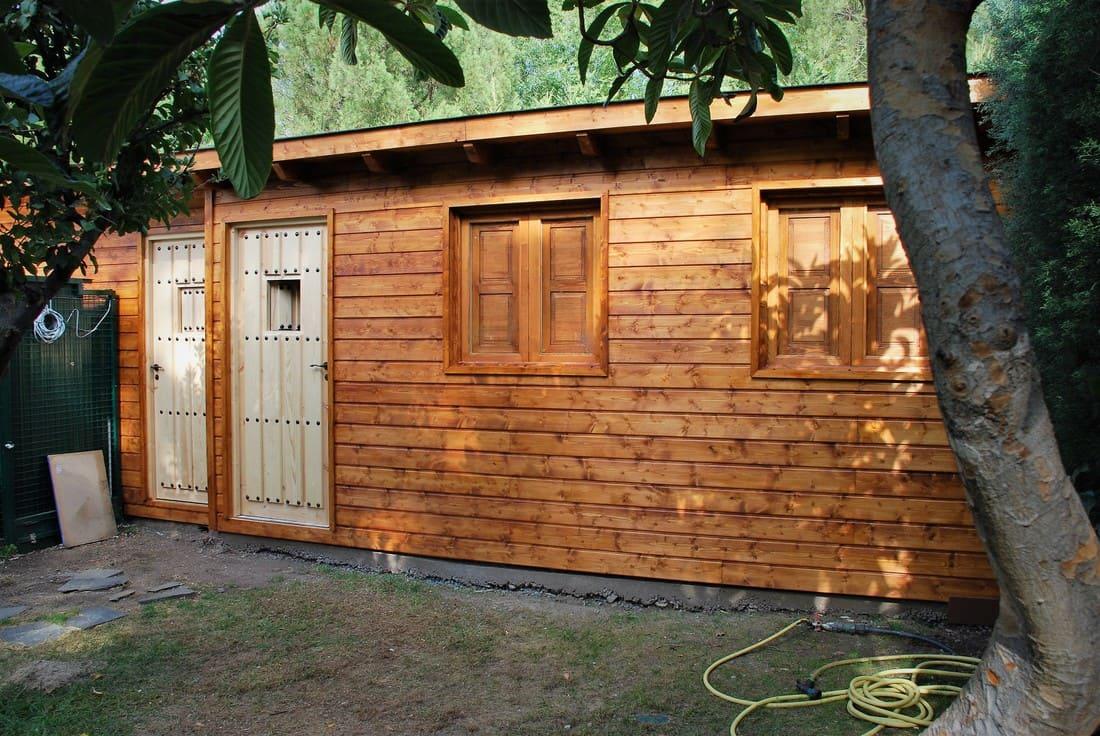 Casetas de madera habitables 14.6m2 Caseta Living