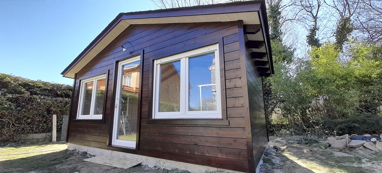 Casetas de madera habitables 15m2 Caseta Living