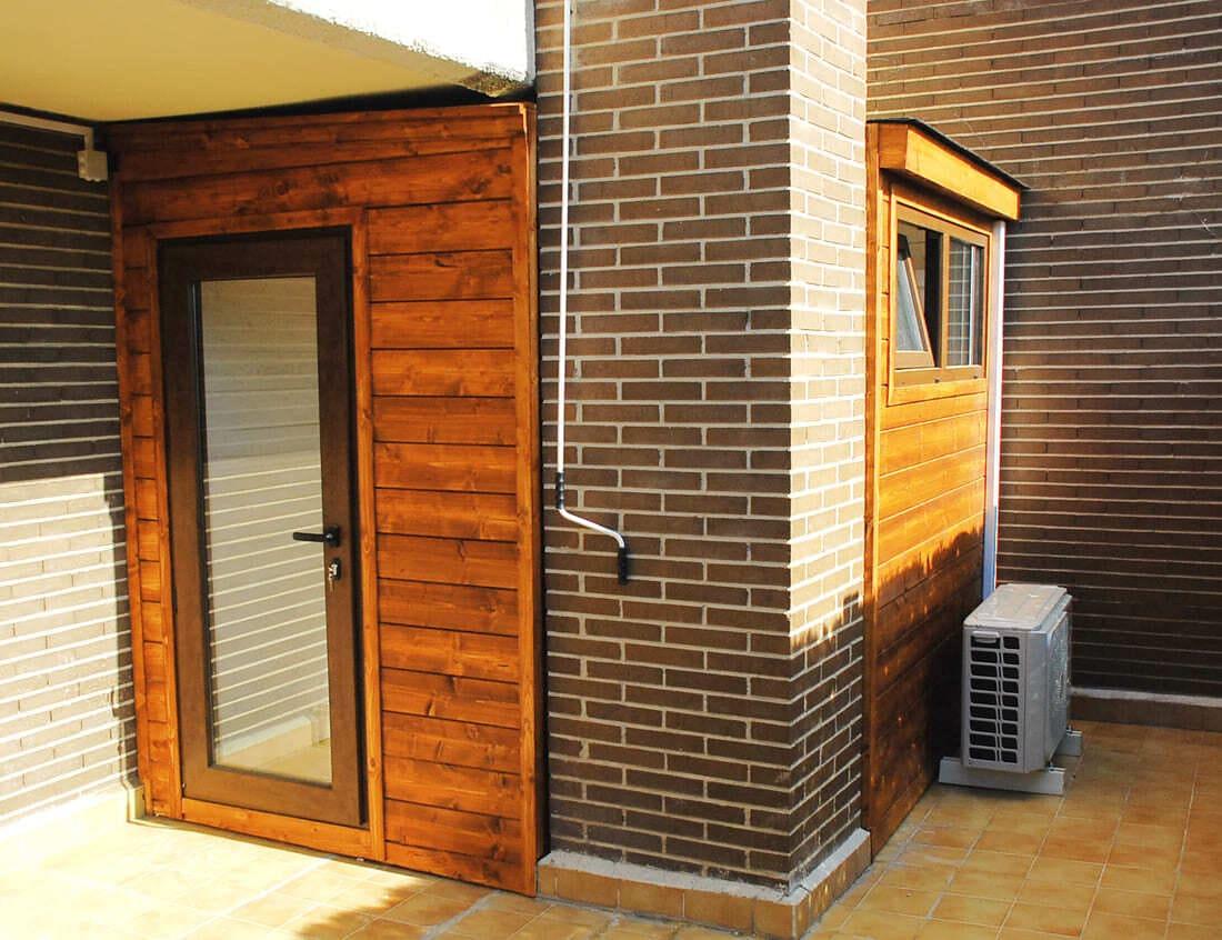 Casetas de madera habitables 5,5m2 Caseta Living