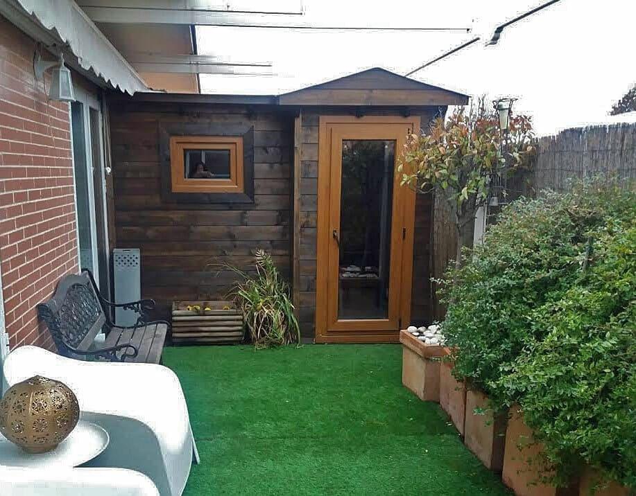 Casetas de madera habitables 5m2 Caseta Living