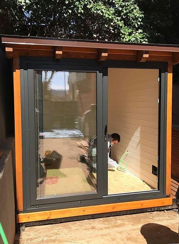 Casetas de madera habitables 7,25m2 Caseta Living