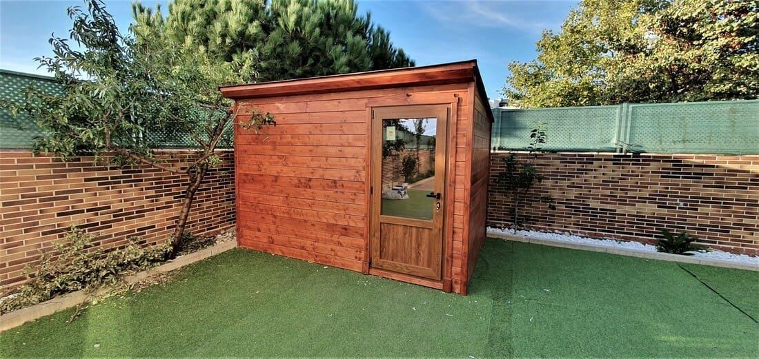Casetas de madera habitables 7.5m2 Caseta Living