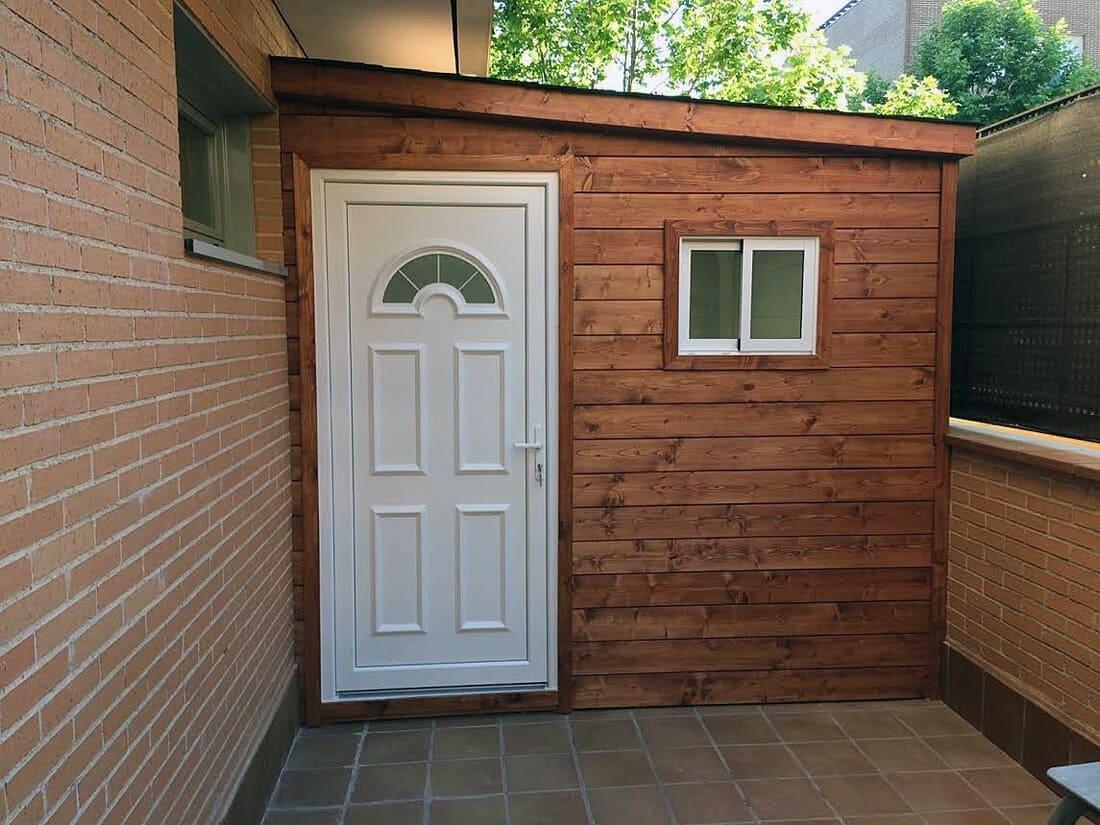 Casetas de madera habitables 7m2 Caseta Living