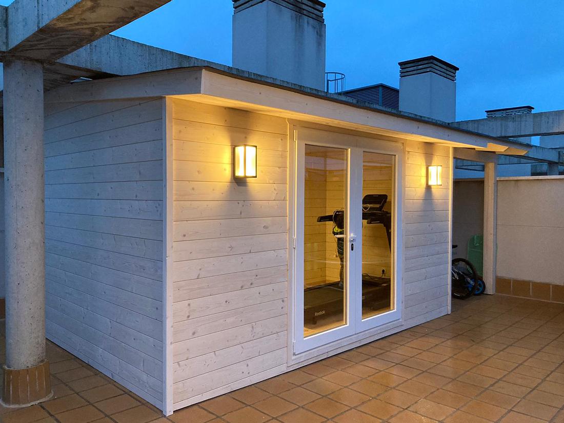 Caseta de madera habitable 13m2 Caseta Living