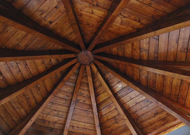 Cenador de madera Caseta Living