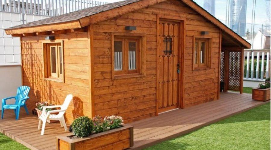Casas de madera para invitados, en Caseta Living